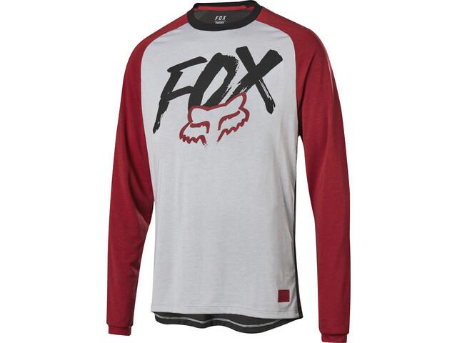 Fox Ranger Dr LS Jersey Jungs steel gray